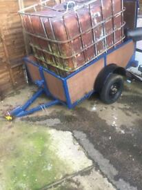 Trailer 5x3.6ft dropdown back reconditioned