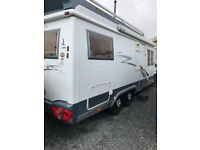 Hobby 700 HML Motorhome, fixed rear french bed, beautiful leather interior, separate bathroom