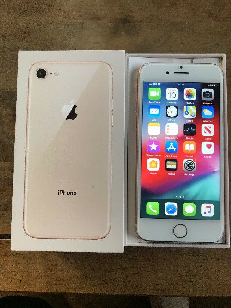 iPhone 8 mint condition boxed with original charger 290 if gone tonight |  in Exeter, Devon | Gumtree