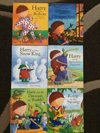 Harry and the Dinosaurs Book Collection (with CD)