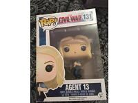 FUNKO POP CIVIL WAR AGENT 13