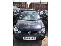 Volkswagen polo 1.2 5 doors hatchback 2002 53 plate