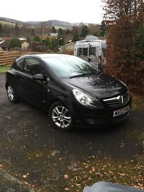 Vauxhall Corsa sxi, 3dr, 58 plate, low mileage