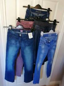Girls jeans 11-12yrs