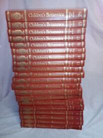 Children's Britannica Encyclopedias 20 Volumes