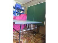 Dunlop Maxplay Rollaway Table Tennis Table - Good condition