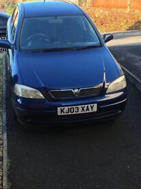 Vauxhall Astra 1.4 ls 2003