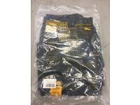 Dewalt pro work trousers still packed 30inch waist 33 inside leg