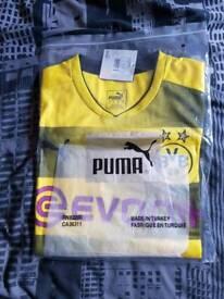Borussia Dortmund 17/18 Home Football Shirt