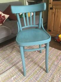 Upcycled shabby chic chair