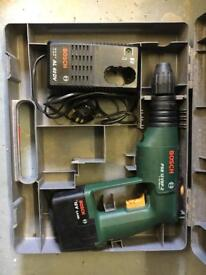 Bosch cordless drill and charger