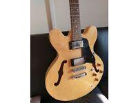 Jim Deacon Semi Hollow Guitar