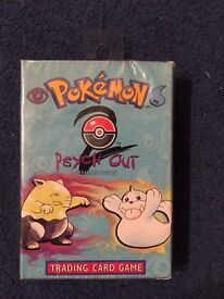 Pokemon Psych Out Themed Deck. Factory sealed