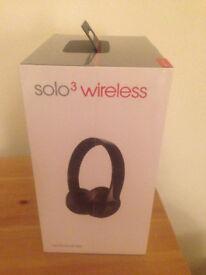 Beats Solo 3 Wireless, Brand new, Original unopened packaging