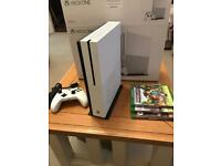 Xbox One S - White Slim - 1TB - Boxed with games