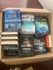 Books - murder / detective -