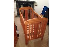 FREE Maclaren Pine wood child's cot