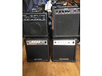 4x 10 watt amps £15