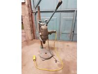 Vintage 'Black and Decker No 60' Drill Stand and Drill