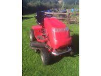 Countax A20/50HE sit on mower with Mulcher cutting machine,plus grass box.