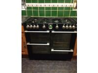 Large 7 Gas Hob Stoves Cooker 40inch