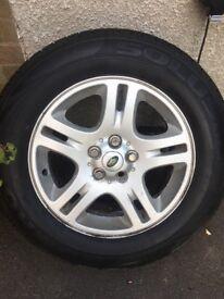 Range Rover 18 Wheels & Tyres