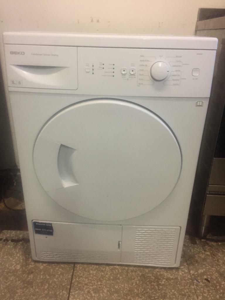 Tumble dryer beko 8kg