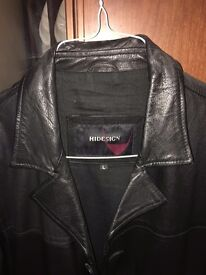 Hidesign Leather Coat for Men (Used)