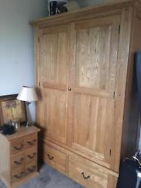 Solid Oak Wardrobe £300 ONO