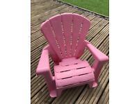 Little tikes garden chair