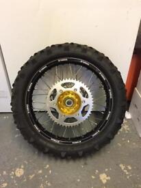 Yamaha yz250 Enduro wheels