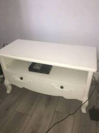 White tv stand from dunelm