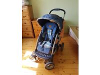Immaculate Mothercare pram pushchair with car seat