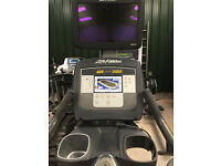 95c Inspire upright Lifecycle bike provides with TV