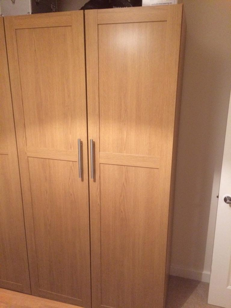 Ikea pax wardrobe with extras in st annes bristol gumtree for Ikea wardrobes pax