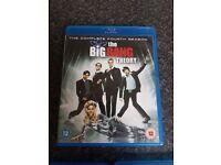 Blu Rays For Sale including, Big Bang Season 4