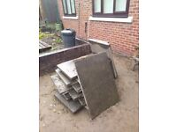 40 paving stones 3x2 not council type £3.50 each, will sell indevidually poss delivery