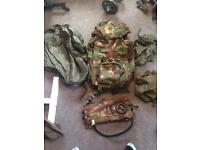 Army bergen shortback