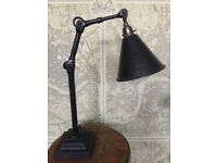 Dugdills Dugdill Task Desk Table Lamp Light Industrial Factory Antique Vintage