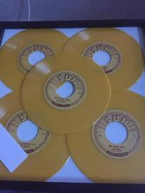 Elvis Presley sun 5 yellow special limited edition rare mint