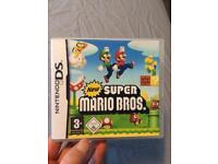 New super Mario bros for the DS