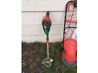 Strimmer and lawn mower, £15