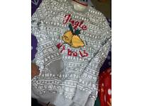 Grey Christmas jumper