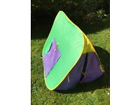 ELC Early Learning Centre Pop Up Play Tent