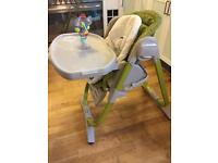 Chicco Polly Magic high chair + accessoires