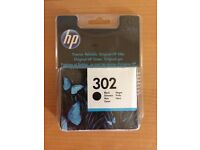 HP 302 black printer ink cartridge
