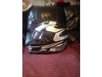 Nitro racing motor bike helmet