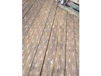 17 x 5meter decking boards