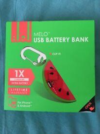 USB Battery bank!!