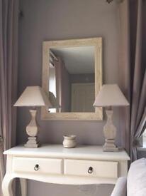 BN Large cream mirror